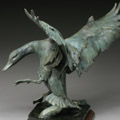 Wildlife bronze sculpture by SANDY SCOTT available at Columbine Gallery home of the National Sculptors' Guild Colorado's Largest Fine Art Source Specialists in Public Art
