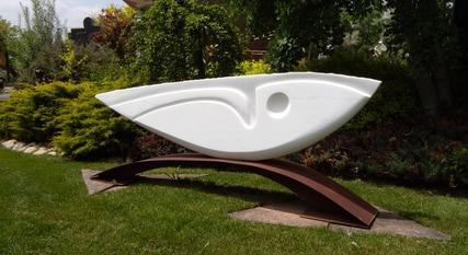 Shop Online, Abstract sculpture by KATHLEEN CARICOF available at Columbine Gallery home of the National Sculptors' Guild Colorado's Largest Fine Art Source Specialists in Public Art