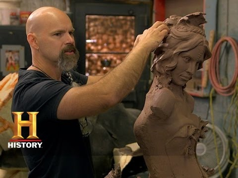 The HISTORY CHANNEL'S Monument Guys follows artists with a passion for turning two-thousand degree molten bronze into some of America's most powerful statues and monuments for parks, museums, and universities. Craig Campbell Sculpture, Crucible, Norman, OK